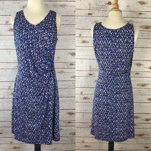 Nice and Zoe Blue Sleeveless Stretch Dress